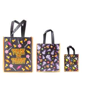 Non Woven Shopping Tote Bag with Customized Logo (YYNWB082)