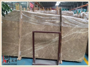 Natural Stone Spanish Light Emperador Marble Slabs for Building Material