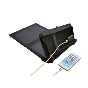 10w Folding 5v 2a Solar Panel Usb Charger For Cellphone Tablet Pc