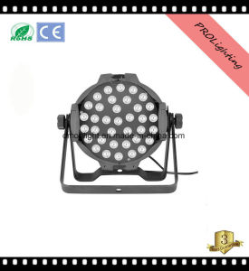 Nightclub / Theater Stage LED PAR Cans Lighting with 36PCS 3W 4-in-1 LEDs