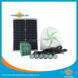 15W-18V Mini Solar Fan with Three Level Speed Regulations pictures & photos