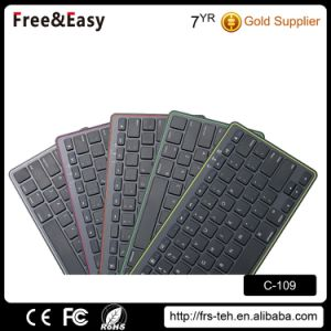 High Quality Slim Design Wireless 3.0 Bluetooth Keyboard pictures & photos