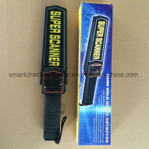 Super Scanner Metal Detector Hand Held Gold Metal Detector pictures & photos