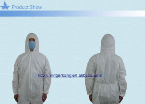 OEM Non Woven Hooded Coverall with Ce Certificate pictures & photos