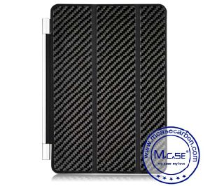 Factory Direct Selling Carbon Fiber Smart Case for Apple iPad Mini 1 2 3