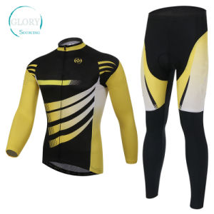 100% Polyester Man′s Bike Wear pictures & photos