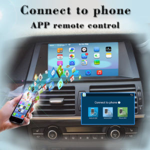 China Carplay Android BMW X5 BMW X6 Touch Screen Car Stereo OBD DAB+