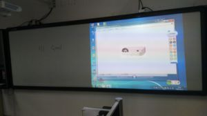 "150"" Interactive Electronic Blackboard, Full Touch, Double Projector pictures & photos"