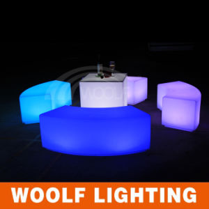 LED Patio Decorative Illuminated Outdoor Furniture