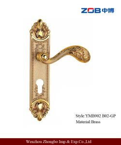 Medium Size Luxury Door Lock with Pure Copper (YMB902)