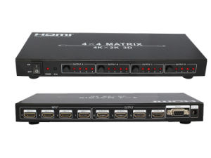 4 X 4 HDMI Matrix Support 4k*2k pictures & photos