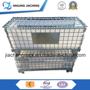 Galvanized Steel Wire Mesh Container with Lid pictures & photos