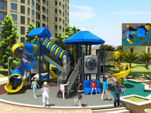 Kaiqi Medium Sized High Quality Children′s Outdoor Playground (KQ50075A) pictures & photos