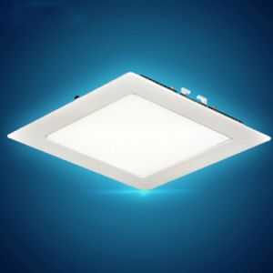 Ce Marked China Factory Low Price E27 220v High Lumen And Eyes Protection Square Led Panel Light Lighting Ceiling In Cabinet
