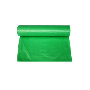 Green Polythelene Plastic Packing Shopping Bag in Roll