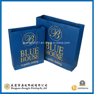 Customized Manufacturer Paper Shopping Bag (GJ-Bag543) pictures & photos