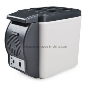 Cooler or Warmer Mini 6L Car Refrigerator Freezer