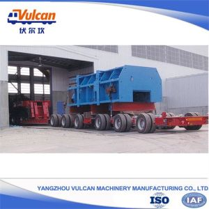 Supplier Special 6 Axles Low Bed Modular Semi Trailer for Heavy Equipments Transport