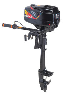 Water Cooled 3.6HP 2 Stroke Outboard Motor pictures & photos