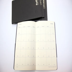 Hard Cover Memo Notebook with Embossing pictures & photos