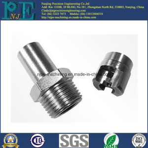 Precision Steel Alloy CNC Machining Nipples