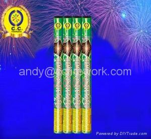 Roman Candle Fireworks Magic Shots for New Year Christmas Wedding Party Event