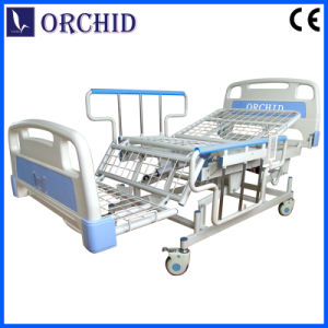 Lifting-Type Side Rail Nursing Bed (BCZ09-IVB)