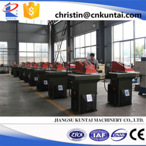 Hydraulic Leather Swing Arm Cutting Press
