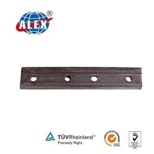 Track Joint Bar with 4 Holes for Railway Fastening