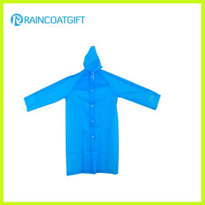 Cheap PE Disposable Rain Coat with Sleeve (RPE-063) pictures & photos