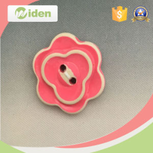 Customer Designs Are Welcomed Flower Shape Resin Button pictures & photos