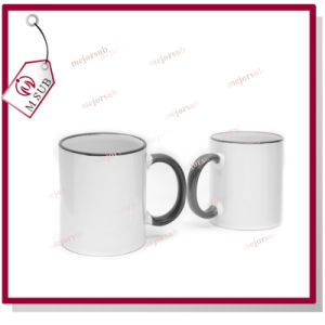11oz Mug for Sublimation with Rim and Handle Color pictures & photos