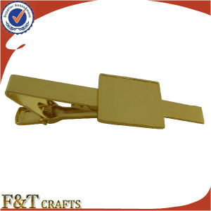 Promotional Crafts and Gift Low Price Gold Tie Bar for Sales (FTTB2608A) pictures & photos