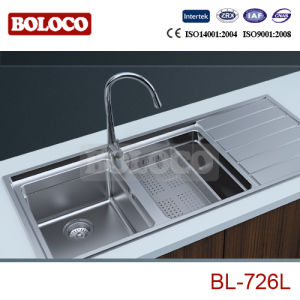 Steel Sink (BL-726L) pictures & photos