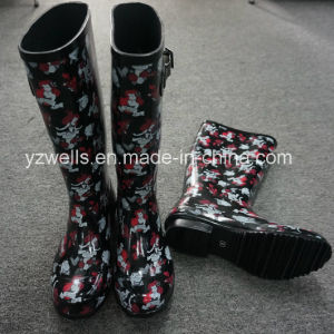New Styles Rubber Rain Boots for Women