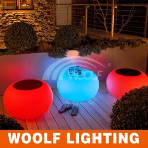Hot Sales Outdoor LED Glow Garden Furniture