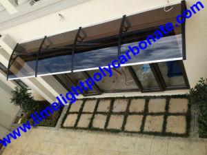 China Entrance Awning Polycarbonate Awning Polycarbonate Canopy