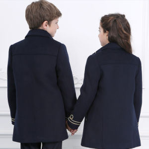 High Quality Navy Blue Winter School Uniform pictures & photos