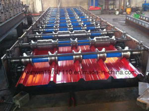 Corrugated Steel Wave Profile Roofing Sheet Roll Forming Machine