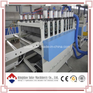 PVC Crust Foam Board Extrusion Making Extruder Machine (SJSZ80X156) pictures & photos