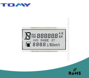 Tn Transmissive LCD Display for Dashboard