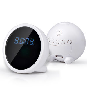 WiFi Camera Clock 1080P Video Recorder Via APP