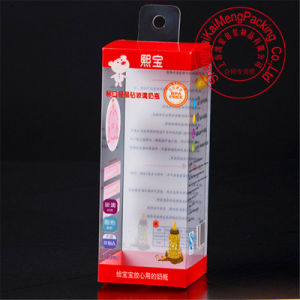 Eco-Friendly Printing PP Plastic Feeding Bottle Box with Handle
