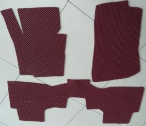 3G PVC Double Color Car Mat with Spike Backing (P-1209T)