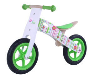 Specifical Customized Wooden Walking Bike/Balance Bicycle