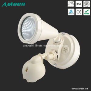 Adjustable Single-Head LED Wall Light with Sensor