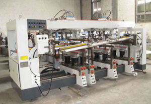 Six-Row Woodwork Drilling Machine