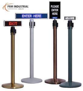 LED Signs for Retractable Barrier pictures & photos