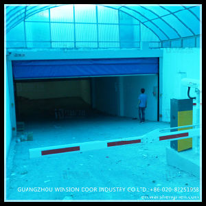 Warehouse Workshop High Speed Electric Folding Industrial Door