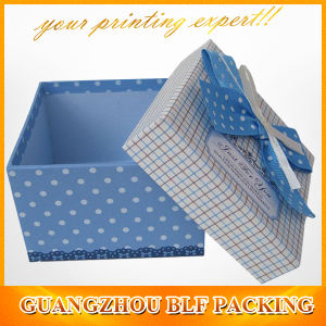 Square Cardboard Paper Craft Storage Box (BLF-GB105) pictures & photos